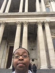 Selfie at St. Pauls