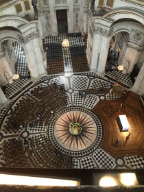 View of the from the Whispering Gallery